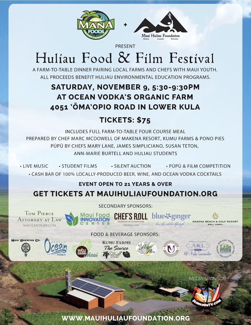 Huliau Food and Film Festival