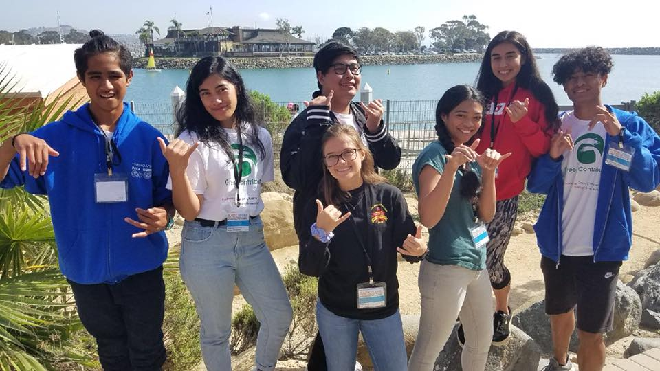 Students attend POPS youth summit!