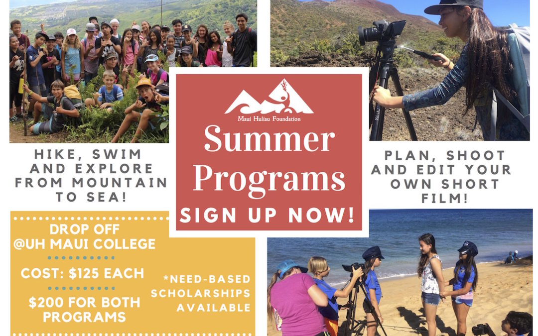 Summer Program Applications Now Open!
