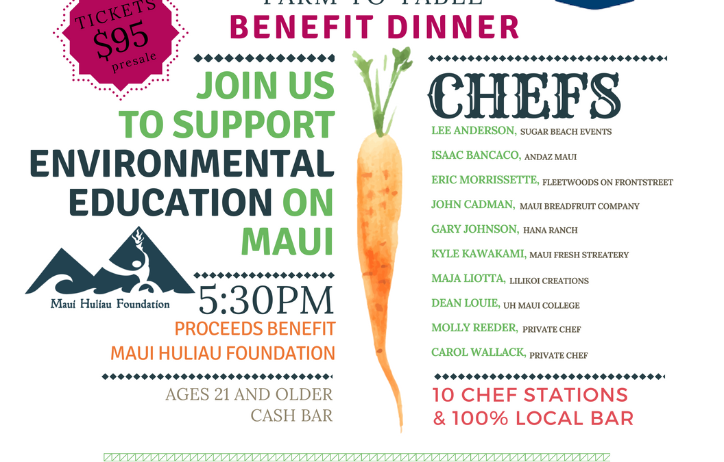 Huliau Food & Film Festival tickets now on sale!