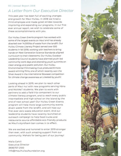 MHF 2018 Annual Report pg 3