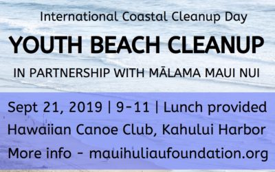 Youth Beach Cleanup and Climate Strike