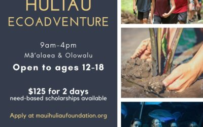 2021 Huliau EcoAdventure Summer Program