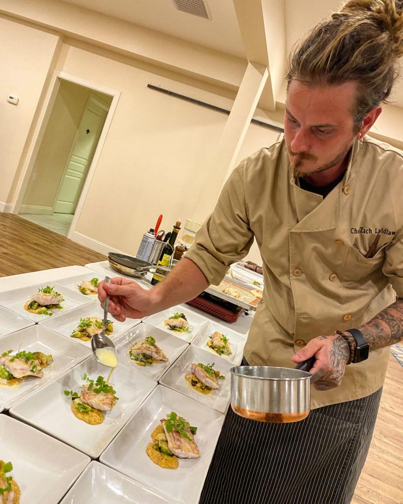 Chef Zach Laidlaw